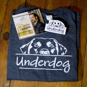 Underdog T-Shirt CD Bundle