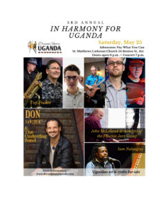The In Harmony For Uganda Fund Raiser and Hope House